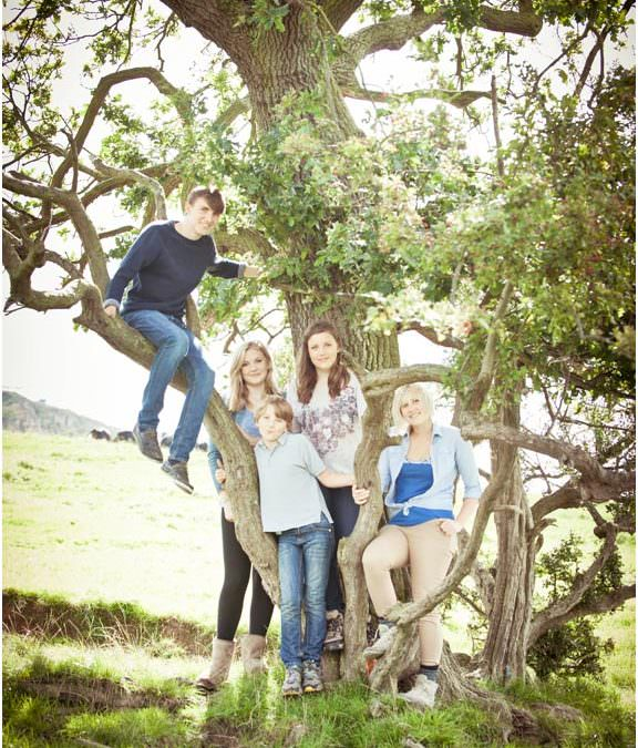 Tiffany Veitch & Family- Leckhampton Hill Cheltenham- Family photography